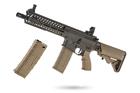 Pack Xtended M4 COMBAT LT595 Openpro CQB OD/Tan BO DYNAMICS AEG