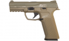 R�plique de poing airsoft BLE ALPHA TAN Gaz ICS