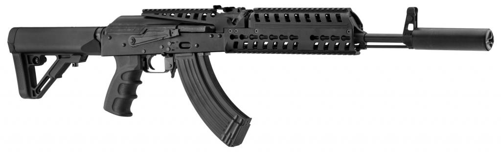 Réplique airsoft AK Patriot Blowback Black BO-DYNAMICS AEG