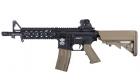 Réplique CM16 Raider CQB Bi-tons Noir/Tan G&G Armament AEG