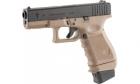 Réplique de poing type Glock 19 S19 SUPERGRADE Black/Tan STARK CO2