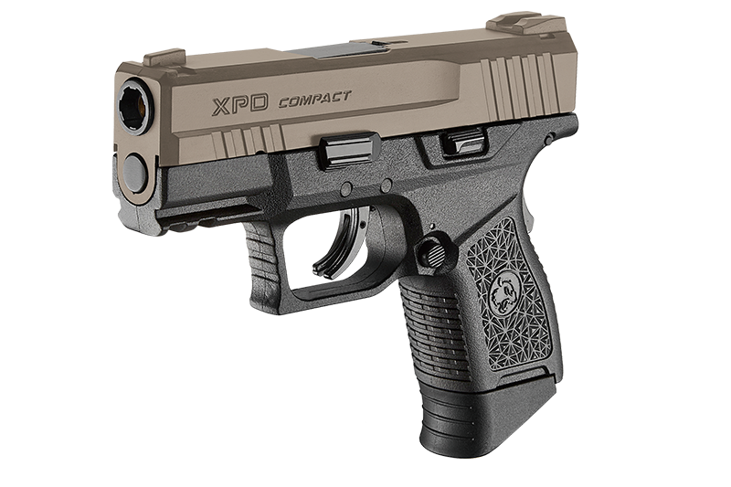 ***XPD Compact Tan / Noir ICS Gaz