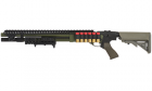 Fusil à pompe airsoft G&P Shotgun-030 Foliage Green