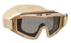 Masque de protection grillagé Tan Invader Gear