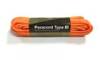 Paracord 550lb 50 feet / 15.24 mètres Orange Invader Gear