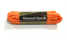 Paracord 550lb 50 feet / 15.24 mètres Orange Invader Gear