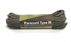 Paracord 550lb 50 feet / 15.24 mètres Army Green Invader Gear