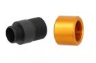Adaptateur silencieux Type B 11mm CW vers 14mm CCW Slong