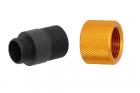 Adaptateur silencieux Type D 11mm CW vers 14mm CCW Slong