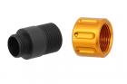 Adaptateur silencieux Type E 11mm CW vers 14mm CCW Slong