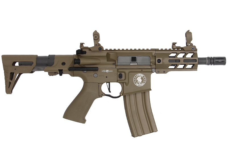 "AEG LT-34 PROLINE ENFORCER BATTLE HAWK PDW 4"" TAN"