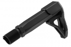 Airsoft Surgeon B5 Stock with Stock Tube for M4 GBB - Black