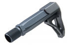 Airsoft Surgeon B5 Stock with Stock Tube for M4 GBB - Grey