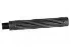 ALUMINUM OUTER BARREL caliber:-14mm length :117mm < Black > 2018/03/30 NEW!!!