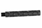 ALUMINUM OUTER BARREL caliber:-14mm length :117mm < Black >