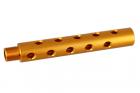 ALUMINUM OUTER BARREL caliber:-14mm length :117mm < Gold > 2018/03/30 NEW!!