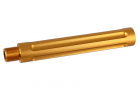 ALUMINUM OUTER BARREL caliber:-14mm length :117mm < Gold >