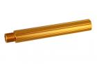 ALUMINUM OUTER BARREL caliber:-14mm length:116mm < Gold >