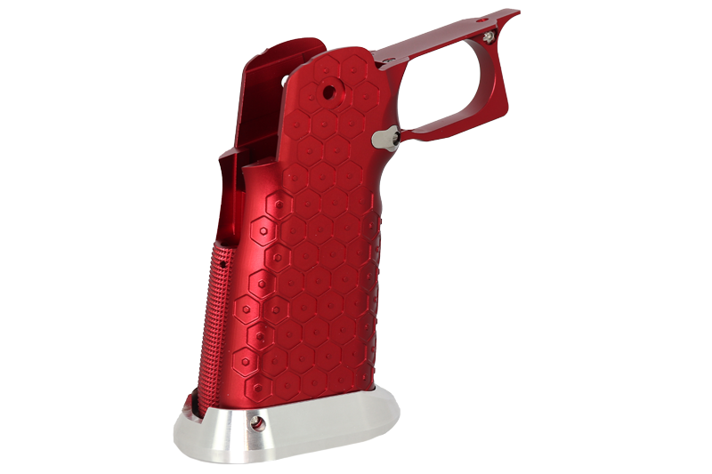 AM Aluminum Base - Type 19 (Infinity Hex) (Red)