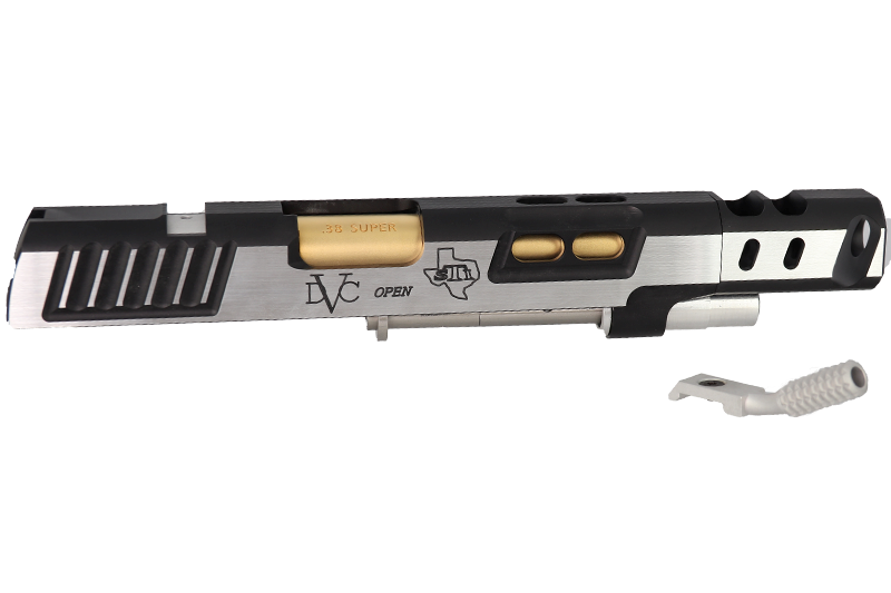 AM S Style DVC Steel Open Slide for Hi-CAPA - 2Tone slide 2Tone comp