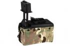 Ammo Box Mini 1500 billes M249 Multicam A&K