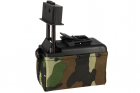 Ammo Box Mini 1500 billes M249 Woodland A&K