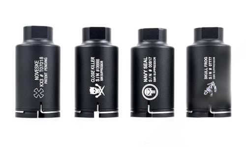 Amplificateur Noveske logo Navy Seal noir CCW Element pour réplique airsoft AEG