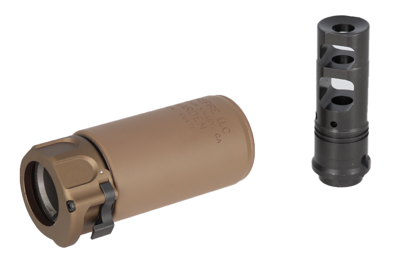 ANGRY GUN WARDEN BLAST DUMMY WITH TYPE A MUZZLE BLAKE- FDE
