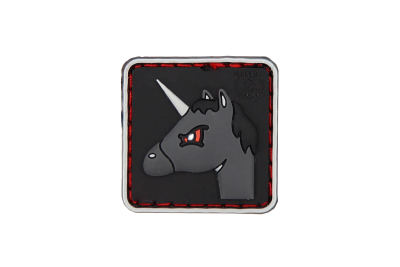 Angry Unicorn Rubber Patch JTG