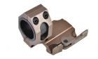 Anneau de montage Quick Release 25-30mm DE AIM-O pour lunette de réplique airsoft.