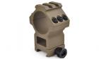 Anneau de montage réhaussé 30mm DE AIM pour lunette de réplique airsoft aeg