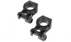 Paire d'anneaux de montage M10 30mm avec niveaux AIM, idéal pour monter une lunette sur votre réplique airsoft.