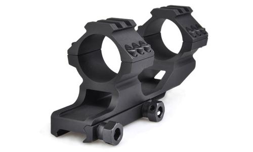 Anneaux de montage réhaussés 30mm AIM pour optique de précision sur réplique airsoft aeg