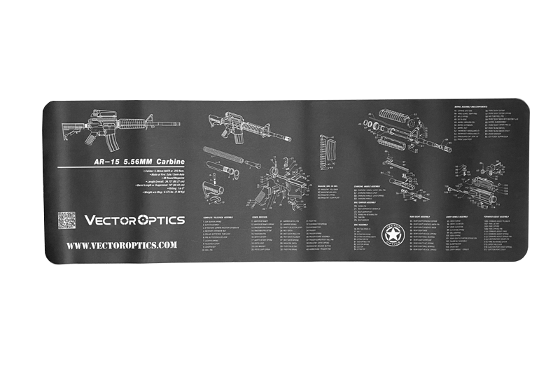 AR15 Bench Mat Vector Optics