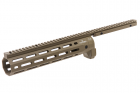 ARES Amoeba CNC M-Lok Handguard for Amoeba STRIKER Series - Dark Earth