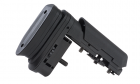 ARES Amoeba Striker Tactical Advanced Butt Pad with Cheek Pad - Black