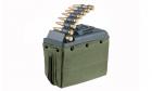 ARES LMG Box 1100rd Magazine - Green