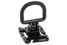 Attache rotative D-Ring Molle Noir TOE