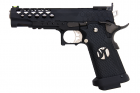 AW Custom HX25 Series Full Metal Competition Ready Gas Blowback Pistol - Black
