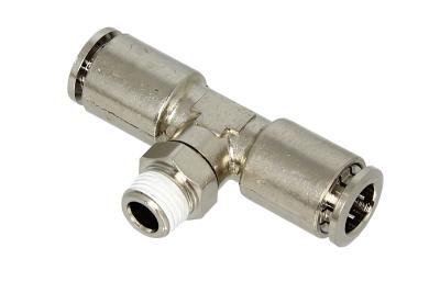 """BalystiK coupleur 1/8 Male \""""T\"""" double entrée macroflex 8mm"""