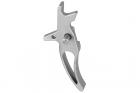 Balystik détente CNC CURVED pour M4 AEG (silver)