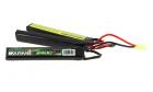 Batterie 3 sticks LiFe 9,9V 2400mAh 20C SWISS ARMS