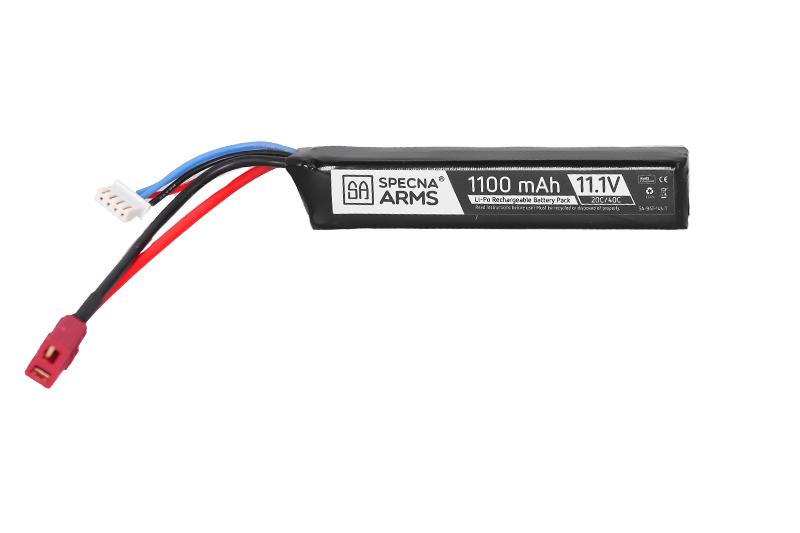 Batterie LiPo 11,1V 1100mAh 20/40C Battery - T-Connect (Deans)
