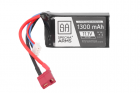Batterie LiPo 11,1V 1300mAh 15/30C Battery - T-Connect (Deans)