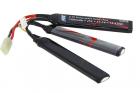 Batterie LiPo 3 éléments 11,1V 1300mAh ASG