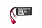 Batterie LiPo 7,4V 1000mAh 30/60C (PEQ) Battery - T-Connect (Deans)