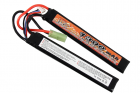 Batterie Lipo 7.4v 1300mAh 15C Double Stick VB