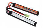 BATTERIE LIPO 7.4V 15C 2000MAH 2 STICKS