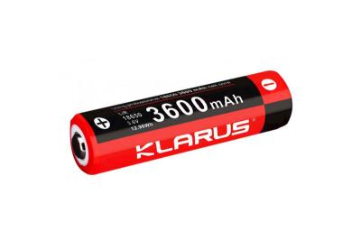 Batterie lithium 18650 3600mAh rechargeable Klarus