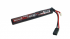 Batterie round stick LiPo 7,4V 1600mAh 25C Swiss Arms